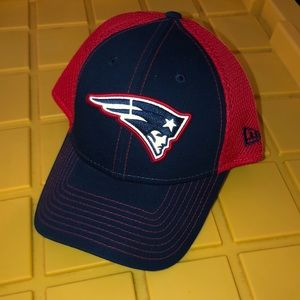 New Era New England Patriots Hat, size Med/Lrg